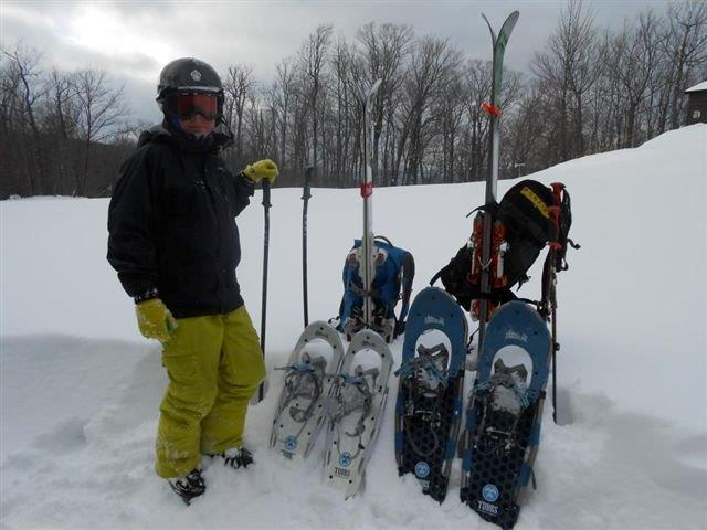 Snowboarding On Mount Zion