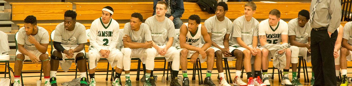 Men's Basketball at GCC Samsons